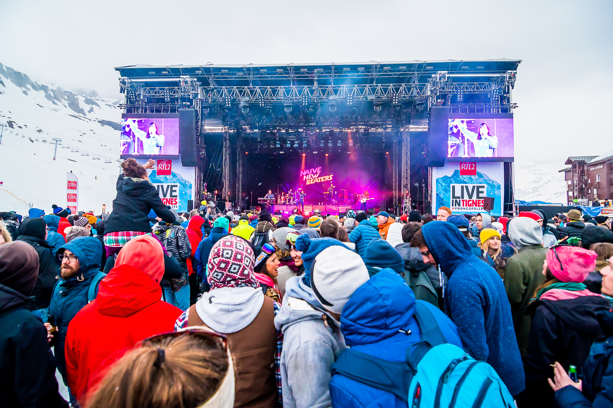 16,17 ET 18.04.19 : LIVE IN TIGNES BY FRANCOFOLIES
